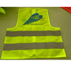 Wholesale 60gsm Yellow Reflective Safety Vest