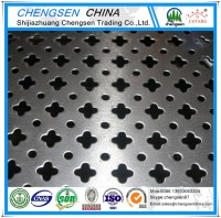 Made in china 1mm hole galvanized perforated metal mesh for acoustic wall panels price list