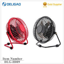 4'' inch mini portable USB rechargeable table fan