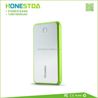 Excellent dual output USB portable battery for smartphone YJ601