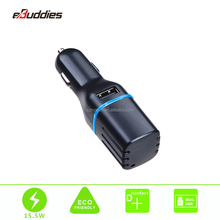 Portable Car Battery Charger Powered Anion Generator Ozone Air Purifier for car with dual USB