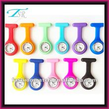 2013 hot fashion cheap silicon nurse fob watch pc21s CE&ROHS cetificate