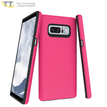For samsung galaxy note 8 f mobile protective case 2 in 1 covers pink,for samaung note 8 case tpu pc