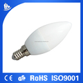 CE Rhos certificated 5W E14 LED Candle Light with Clip