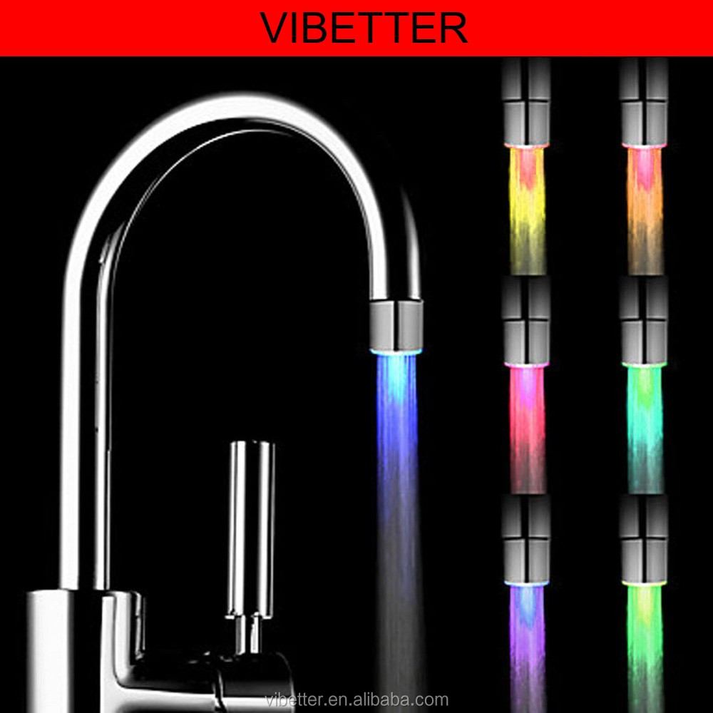Newly Design Fashional led hand shower/led shower head With Different Color