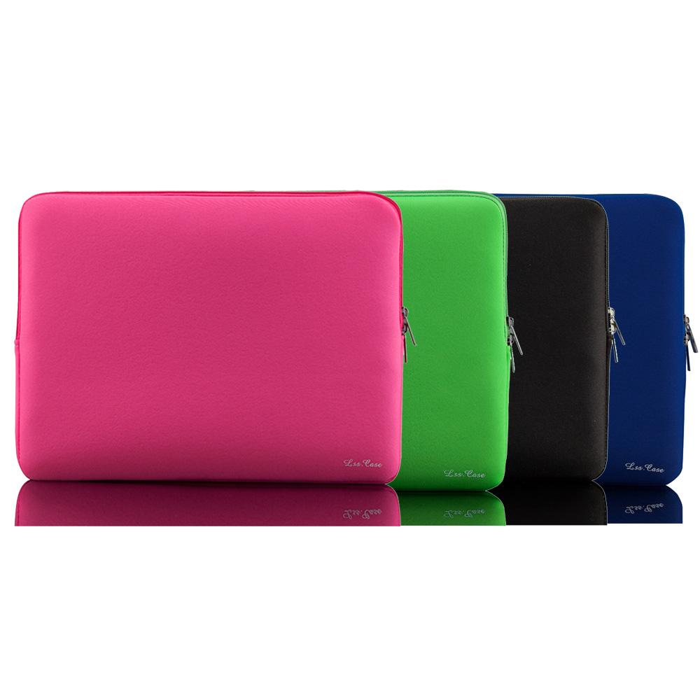 Lss Portable Light Weight Zipper Soft Sleeve 11 inch Laptop Bag Case for Laptop Notebook 11.6 free DHL