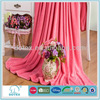100% polyester super soft and warm microfiber coral fleece throw blanket