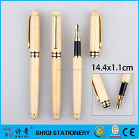 Best selling high quality Promotional wood fountain pen