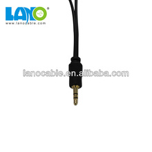 3.5mm stereo to 2 rca audio & video cable