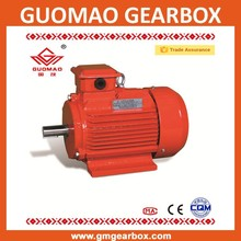 China Guomao Y2 series 3 phase industry AC electric motors 3 phase 90KW 4P