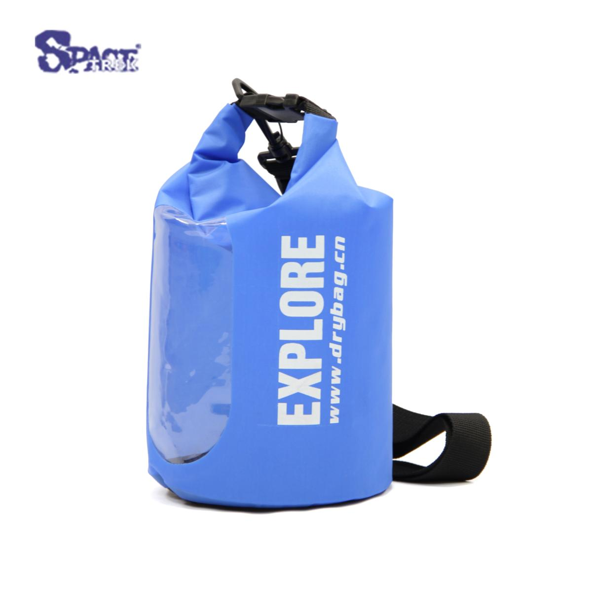 5L Outdoor Sports Polyester TPU Window Waterproof Dry Bag/Dry Sack