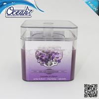 fine quality home vent gel air freshener/gel air freshener for home/rose fragrance air freshener