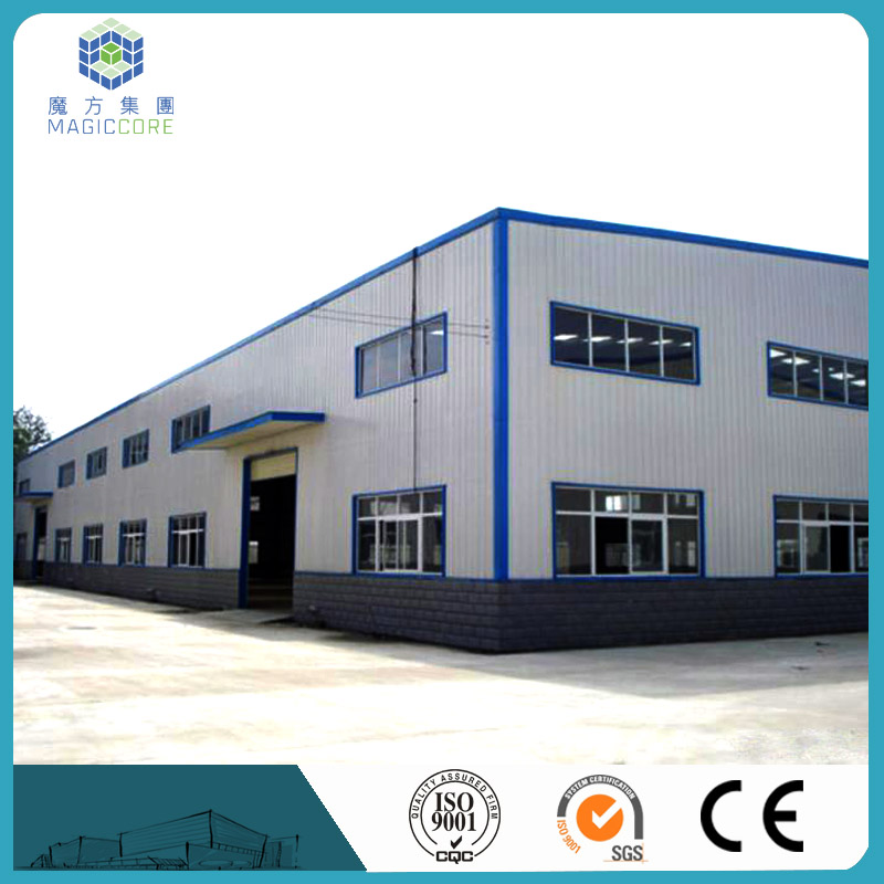 easy assembly low cost prefab warehouse