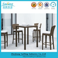 New Patio Rattan Furniture High Chair And High Table Outdoor Furniture