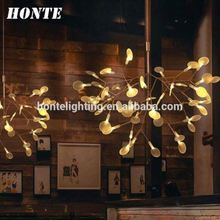 New model stair case project chandelier home decor led light