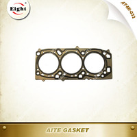 < OEM Quality> AITE Gasket Fits: 10-06 ECLIPSE /09-07 GALANT 3.8L Metal Mitsubishi Cylinder Head Gasket