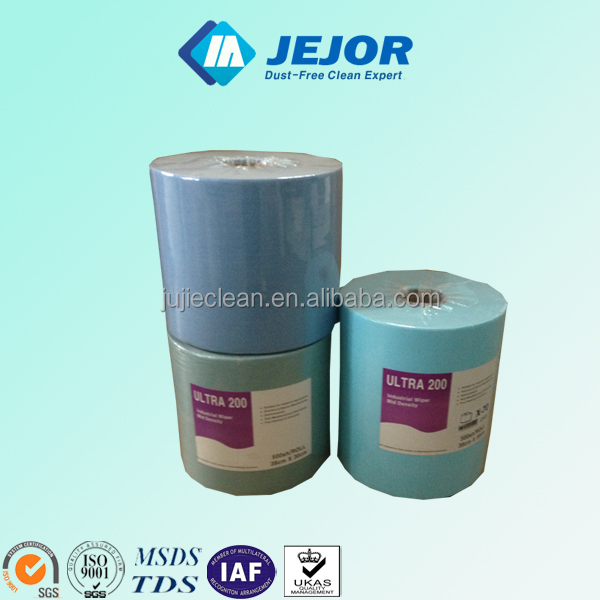 Superior Oil Absorption Lint Free Wiper Paper Roll