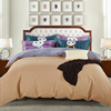 Cartoon cat Bedding set High-end Digital printing Bed sheet Quilt duvet cover pussy