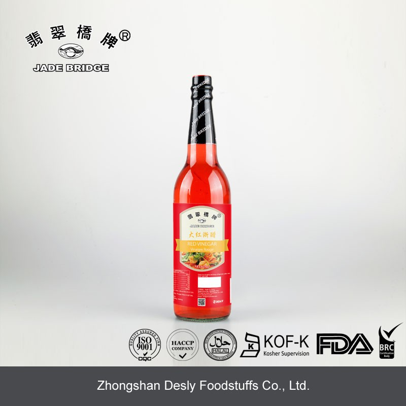 Traditional Naturally Brewed odorless Red Rice Vinegar Dressing
