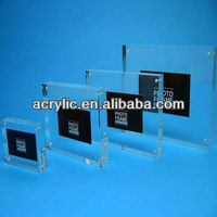 promotional simple china clear carylic picture frame photo
