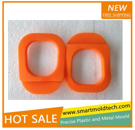2017 new arrivals Silicone rubber case Plastic Injection Moulding for customized parts in Shenzhen