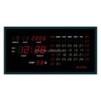 Wholesale Electronic Personalized LED Numerical Display Wall Mounted Perpetual Calendar