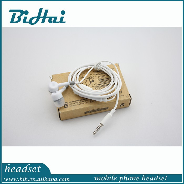 china made factory wholesale stereo earphone