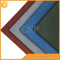 Rich color easy clean high quality indoor sports floor
