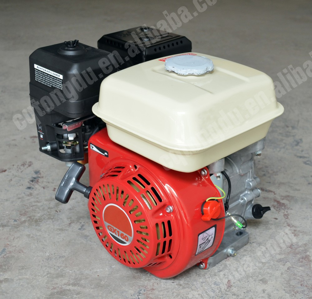 honda gx390 oil type 13hp recoil start air-cooled 4-stroke gasoline engine