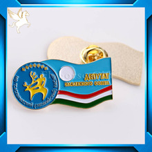 Newest high quality enamel emblem for Russian client