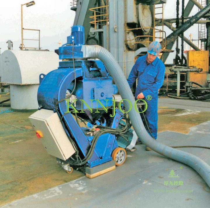 KNNJOO -Horizontal Movable Portable Shot Blasting Machine