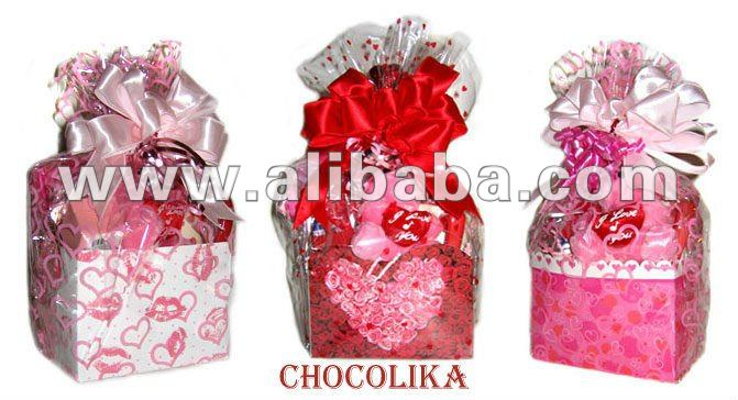 different flavored fine quality homemade chocolates