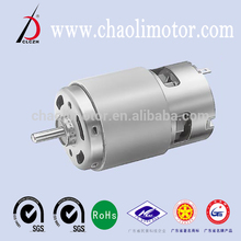 no spark and wear 12 watt geared motor CL-RS775 for small windmill pen