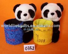 cheap corporate promotional plush panda toy office gifts