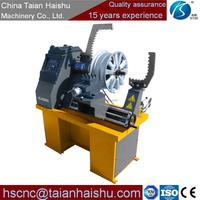wheel rims lathe HS-RSM595 alloy wheel polishing machine special lathe for car or truck