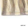 Factory price Brazilian virgin cuticle Hair Highlight Double Stitching invisible hair Weft Extension