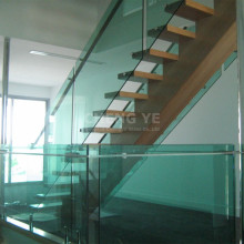 China Wholesale Railing 6mm Thick Toughened Tempered Glass For Stairs Decor