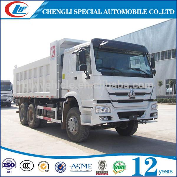 10 Wheels 20T HOWO Dump Truck Van Body Tipper for sale