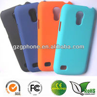 Hard PC phone case for Samsung galaxy s4 mini case with rubber coating