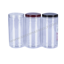 Top quality plastic tube for golf ball and golf tees