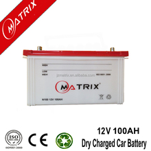 Matrix N100 SMF new 12v 100ah dry cell rechargable automotive battery