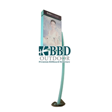 Cheap outdoor street advertising standing unique light box