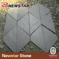different style rectangle natural roofing slate
