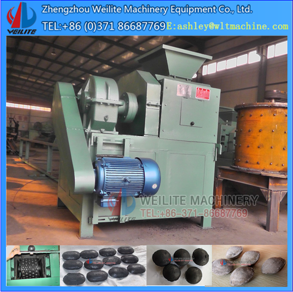 low power cost activated carbon rods making machine / activated carbon briquette machine
