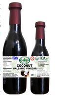 High Quality Natural Coconut Balsamic Black Vinegar