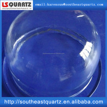 Quartz glass vacuum bell jars