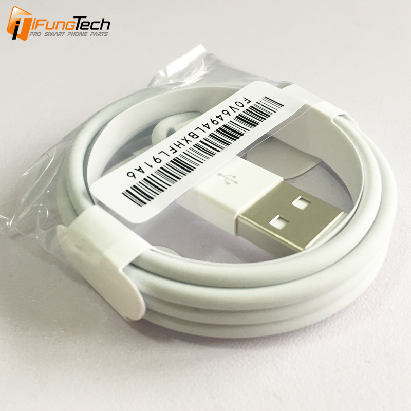 100% Material Original USB Cable Data Sync USB Charging Cable Lead for iPhone 7 7 plus 6 5s 5c 5 SE