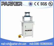Aluminium window door frame punching machine water slot processing machine