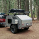 China Ecocampor Off Road Mini 4x4 Teardrop Camper Tent Trailer Caravans