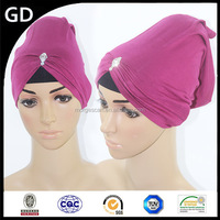 GDHH0008 convenient and fashionable hot arab muslim inner hijab wholesale